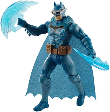 Justice League- Figura Batman con Traje, (Mattel Spain FVM87)