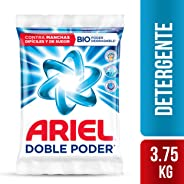 Ariel Detergente En Polvo Ariel Doble Poder 3.75kg, 5 Unidades De 750g, color, 1 count, pack of/paquete de