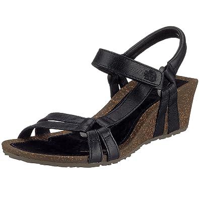 3e4cac856d7d Teva Women s Ventura Cork 2 Wedge Leather Sandal