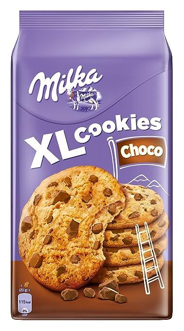 10 opinioni per Milka Cookies Cioccolato- 184 gr, Confezione da 5 pezzi