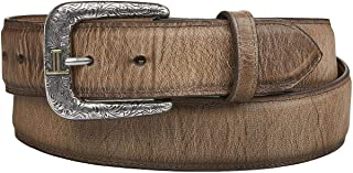 product image for Lucchese Men's Mad Dog Goat Leather Belt - W2241