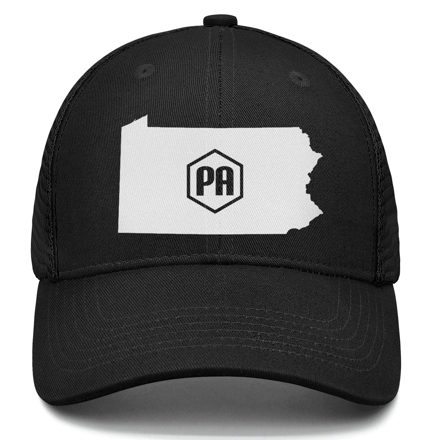 Lets NOT Go to Philly Truck Driver Caps Adjustable Unisex Mesh Cap Duck Tongue Caps Personality Cap