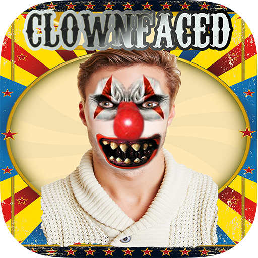 ClownFaced - The Scary Clown Face Maker Horror Halloween Booth (Halloween Photo Booth App)