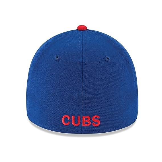 Amazon.com   New Era Chicago Cubs MLB 39THIRTY Team Classic Flex Fit Hat    Sports   Outdoors d9a2a050ab65