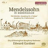 Mendelssohn-Bartholdy: Sinfonien Vol.1-Hebriden-Ouvertüre / Sinfonie Nr.4 & 5