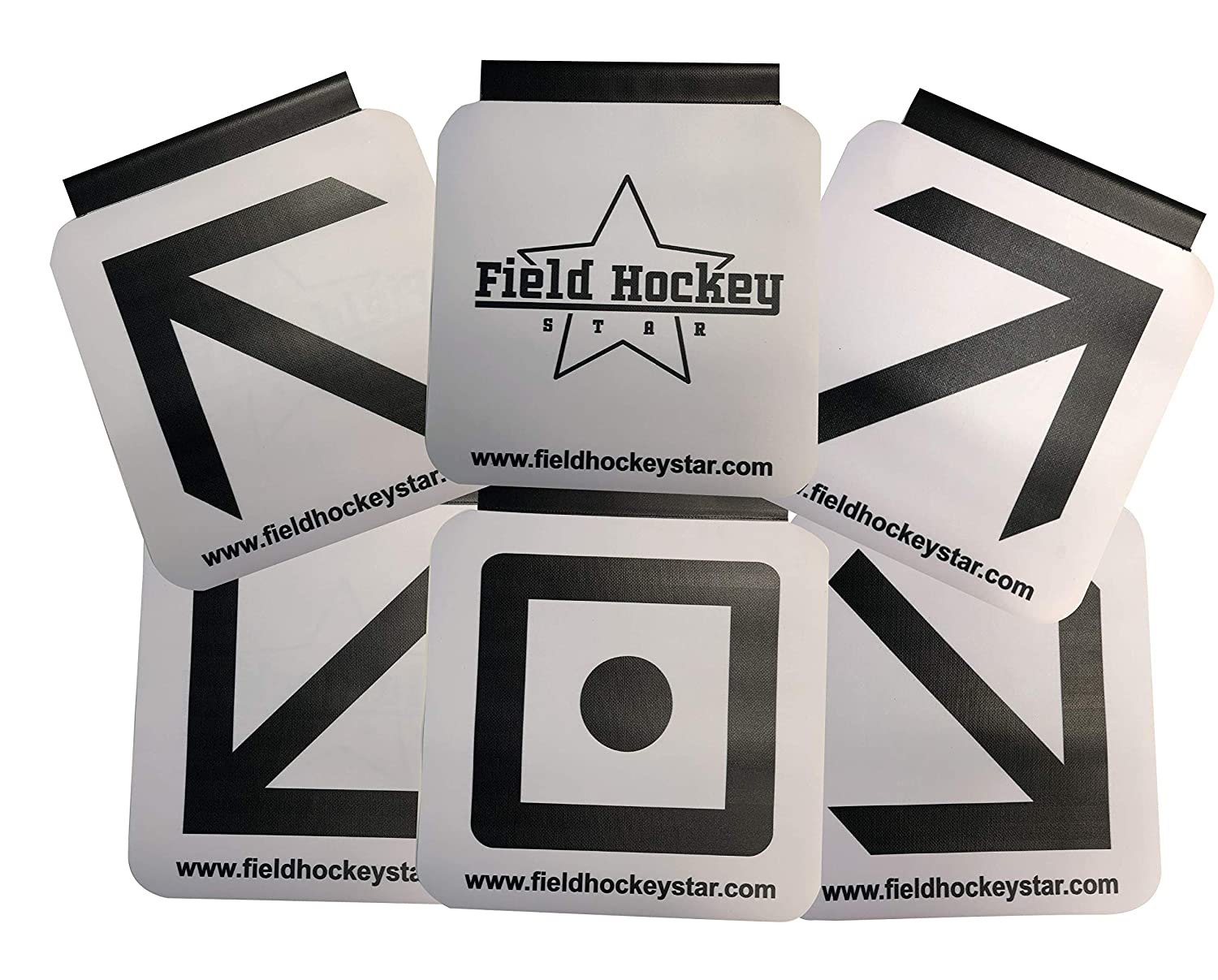 Field Hockey Star Sharp Shooting Training Aid - Goal Targets for Field Hockey and Floorball