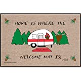 High Cotton Inc M279 High Cotton Outdoor Mat, Home is Where