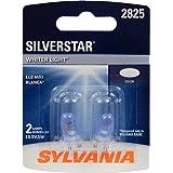 SYLVANIA 2825ST.BP2 SilverStar High Performance Miniature Bulb, (Contains 2 Bulbs)