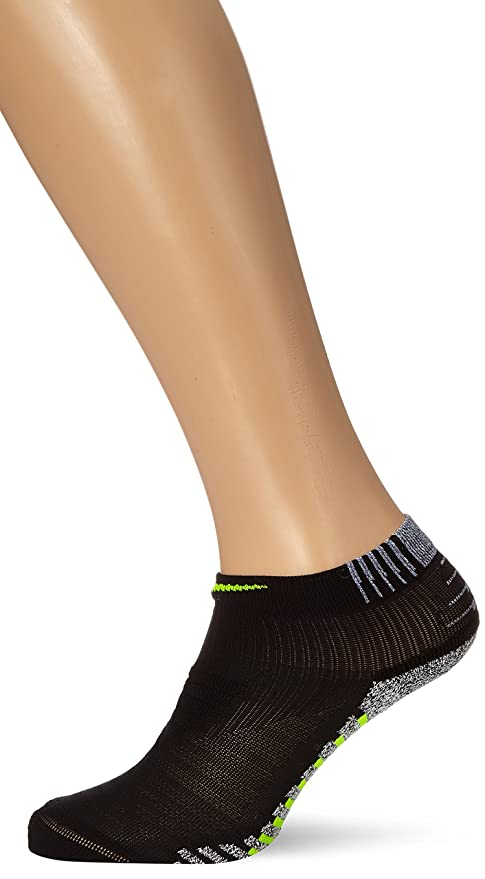 Nike M Ng LTWT Mid Calcetines, Hombre, Negro (Black/Volt),