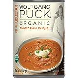 Wolfgang Puck Organic Tomato Basil Bisque, 14.5 oz. Can
