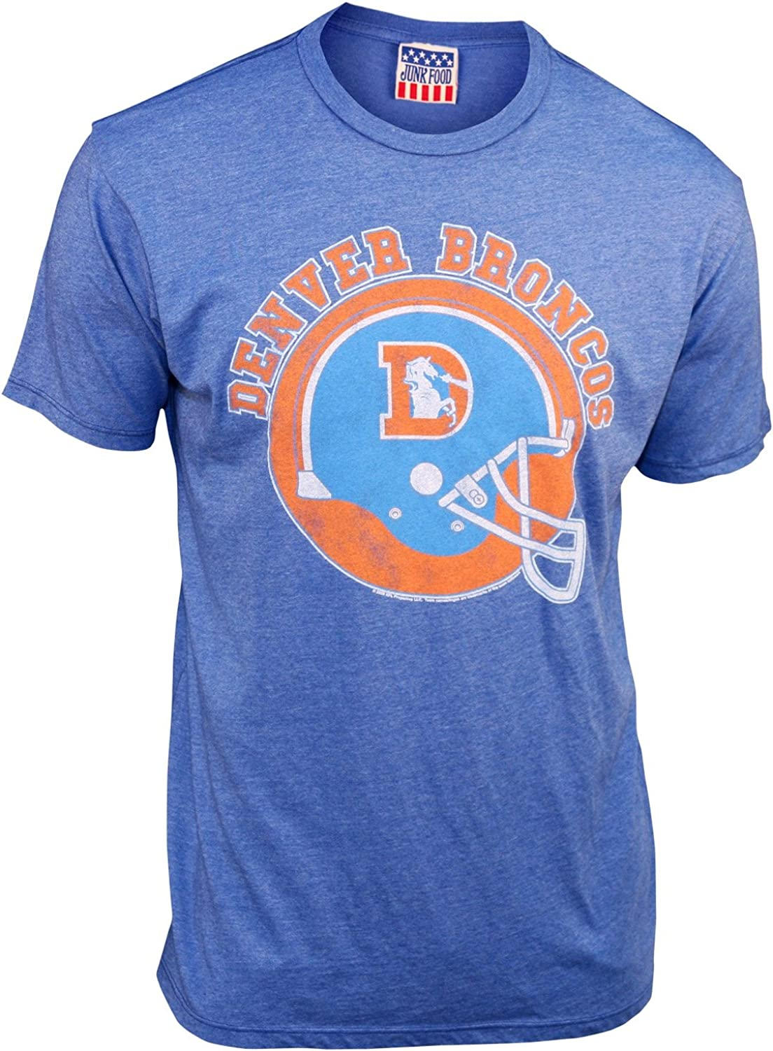 Denver Broncos Men's Retro Vintage T-Shirt