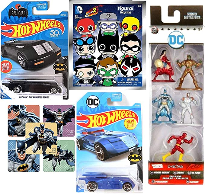 Amazon.com: CarBat DC Character Justice League Nano Metalfig ...