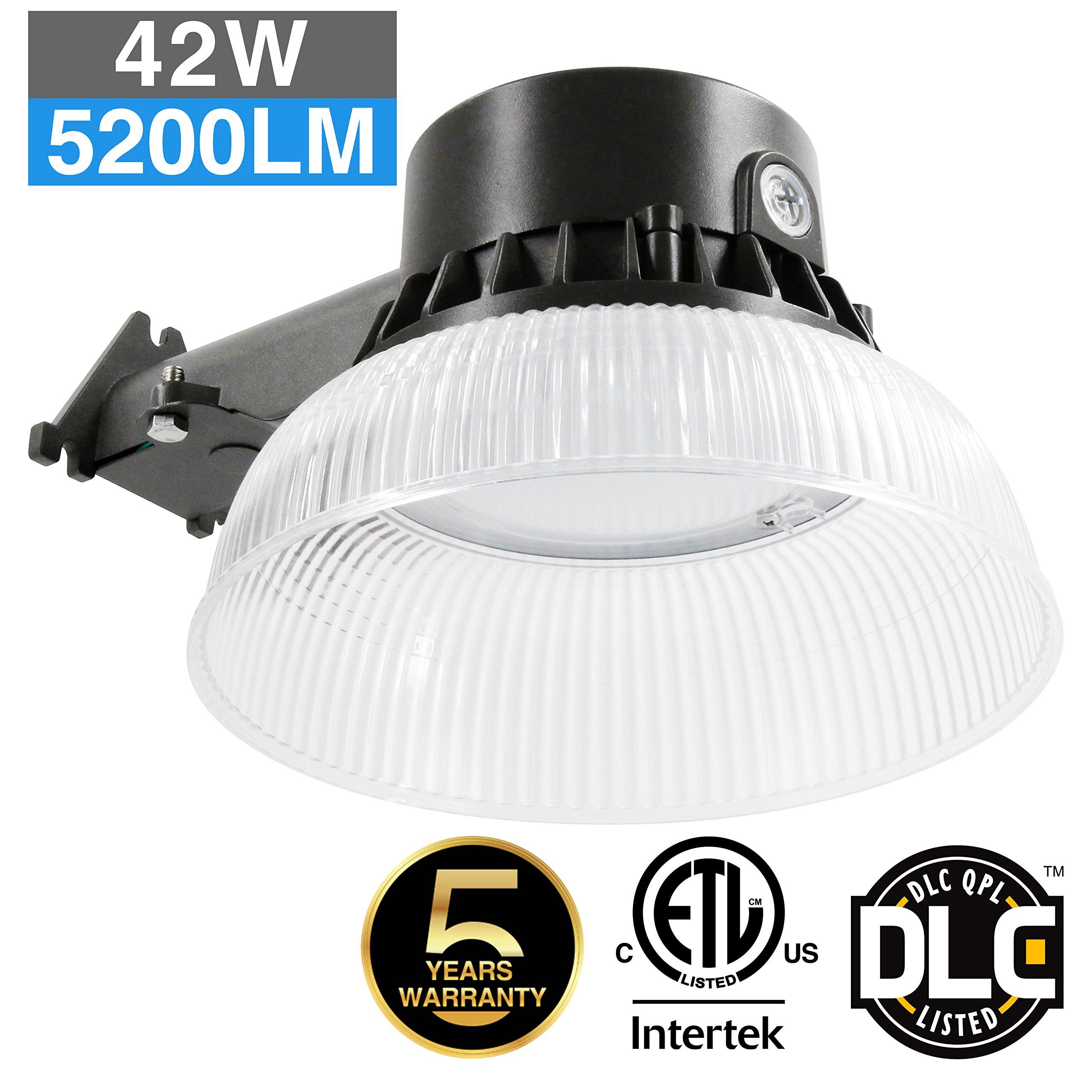 Zjojo Barn Light: Outdoor LED 42W Area Barn Yard Street Security Light