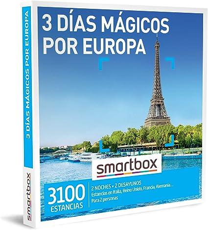 SMARTBOX - Caja Regalo - 3 días mágicos por Europa - Idea de Regalo - 2 Noches con Desayuno para 2 Personas: Amazon.es: Deportes y aire libre