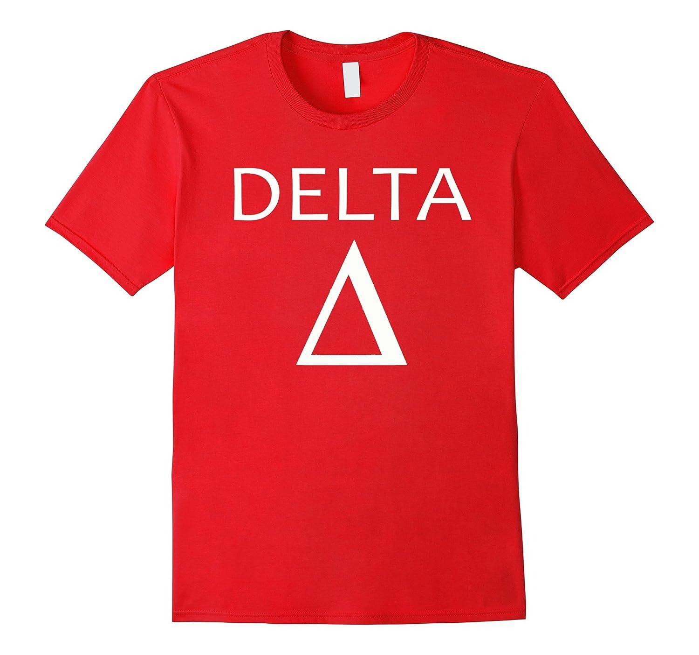 Delta Greek Symbol Tee Shirt-TH