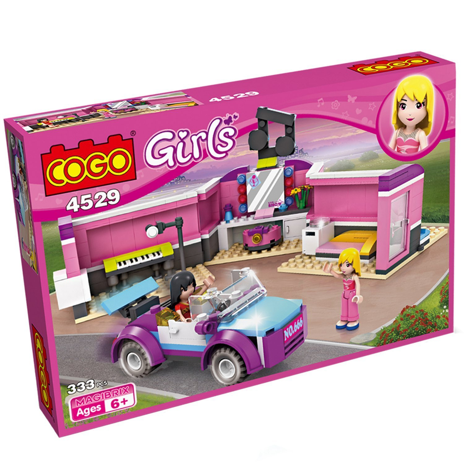 Amazon COGO 4529 Folding Expanding House Girls Pop Star