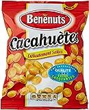 Bénenuts Cacahuètes délicieusement salées extra-croquantes 220 g - Lot de 8