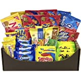 Cookies, Crackers, Candy and Gum Snacks/Treats Variety - Includes Oreos, Trident, Sour Patch Kids, Swedish Fish & More (40 Count)