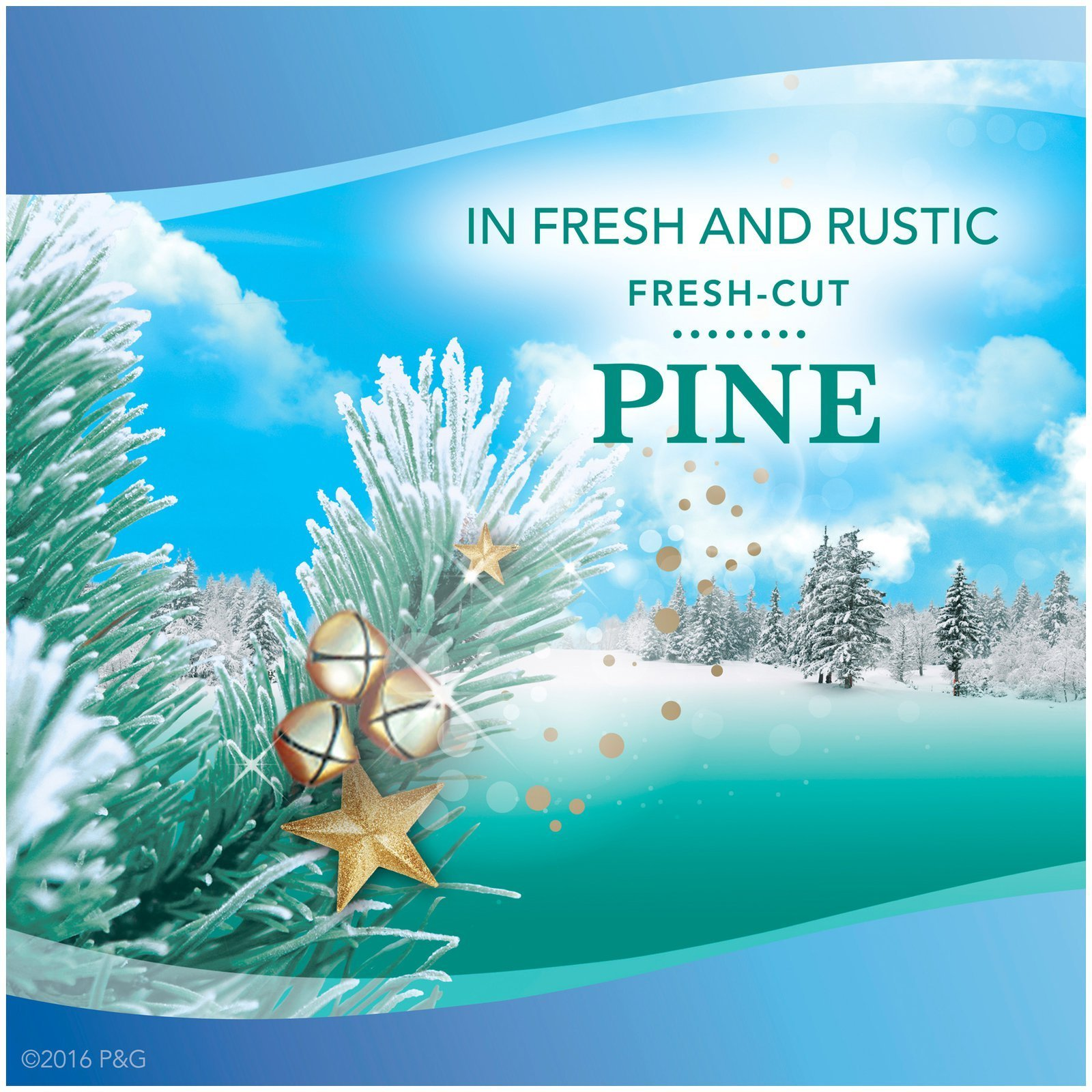 Febreze Noticeables Special Edition Winter Collection ~ Fresh Cut Pine ~ Plug in Scented Electric Air Freshener Refill (Quantity 8)