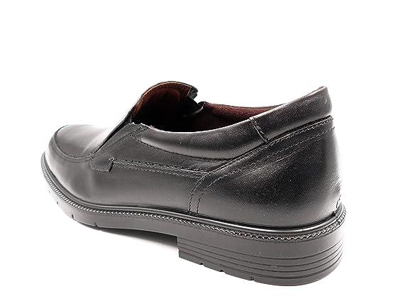 Zapatos Hombre Tipo Mocasin de la Marca Pitillos - Piel Color Negro - 4911-16: Amazon.es: Zapatos y complementos