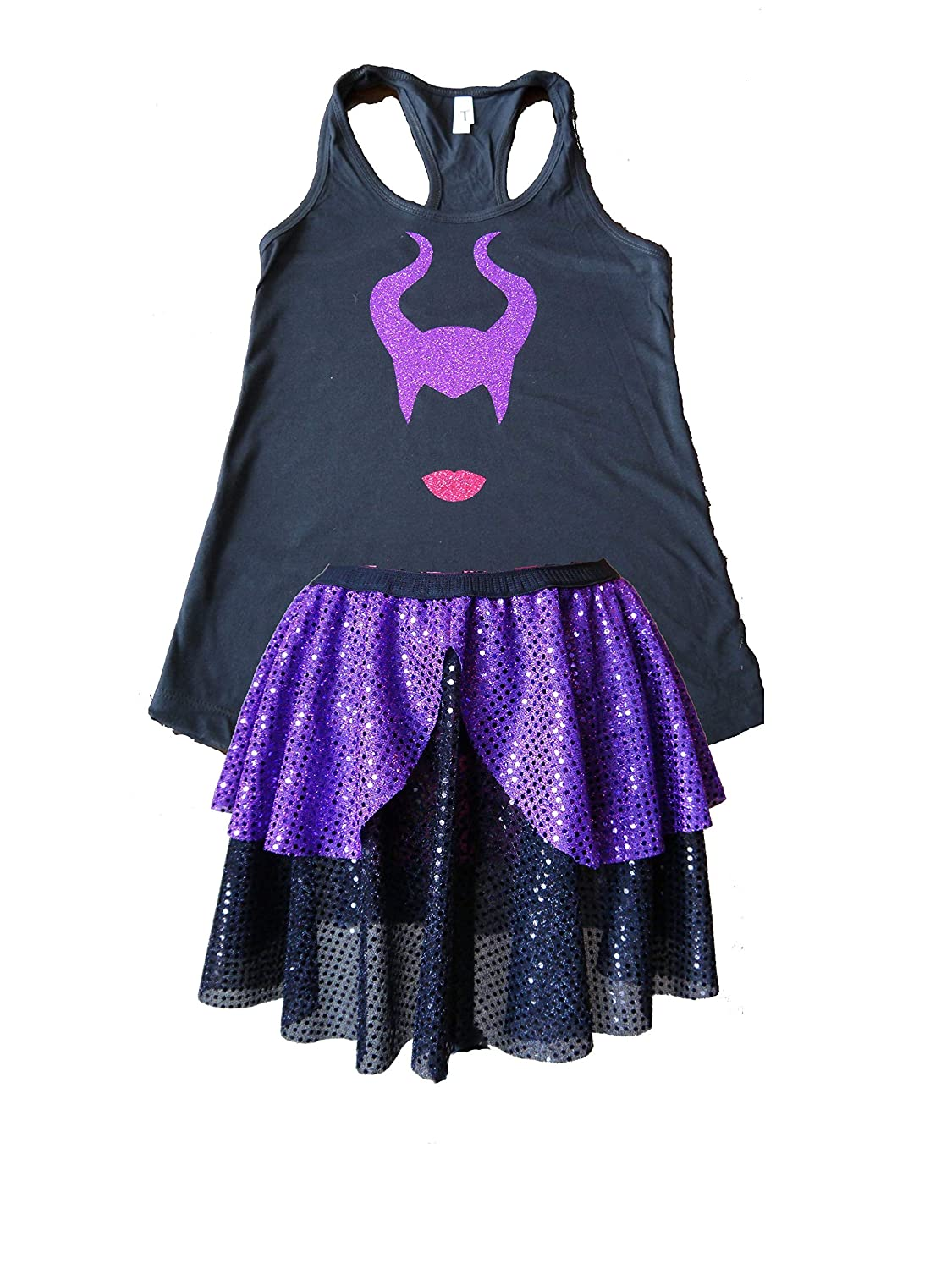 Amazon Com Maleficent Running Costume Handmade