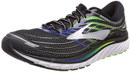 b81ba53f8465 Image Unavailable. Image not available for. Colour  Brooks Men s Glycerin  15 Black Electric Brooks Blue Green Gecko ...