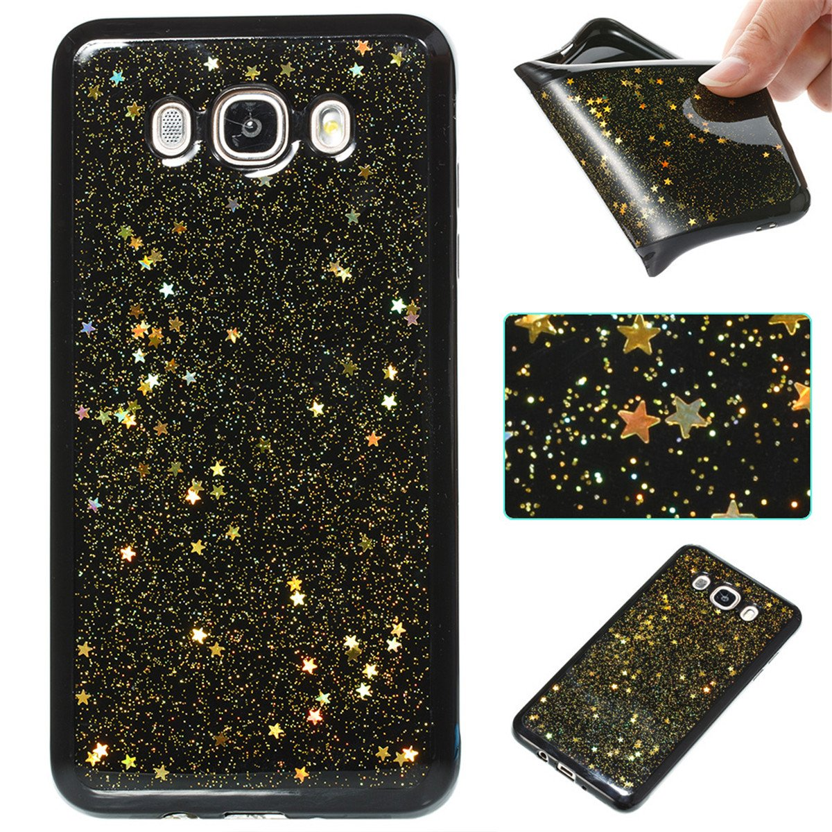 Samsung Galaxy J7 (2016) J710 Case Design Slim Slider Cover,Shock ...