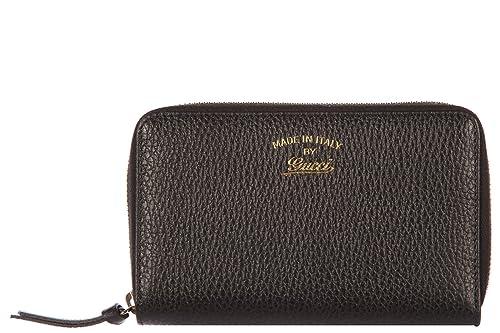 Gucci monedero cartera bifold de mujer en piel nuevo swing negro: Amazon.es: Zapatos y complementos