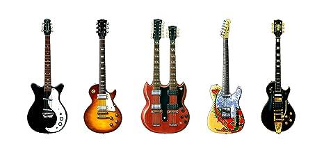 Tarjeta de felicitación de guitarras de Jimmy Page, DL tamaño