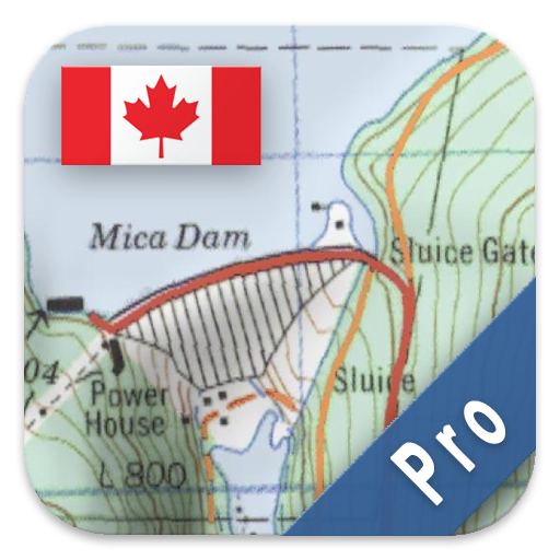 Android Topographic Map App.Canada Topo Maps Pro Amazon Ca Appstore For Android