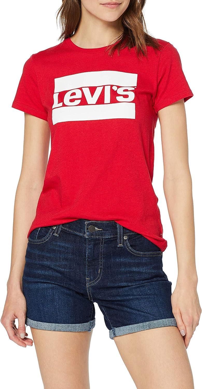 Levis Mid Length Short Update - Shorts para Mujer