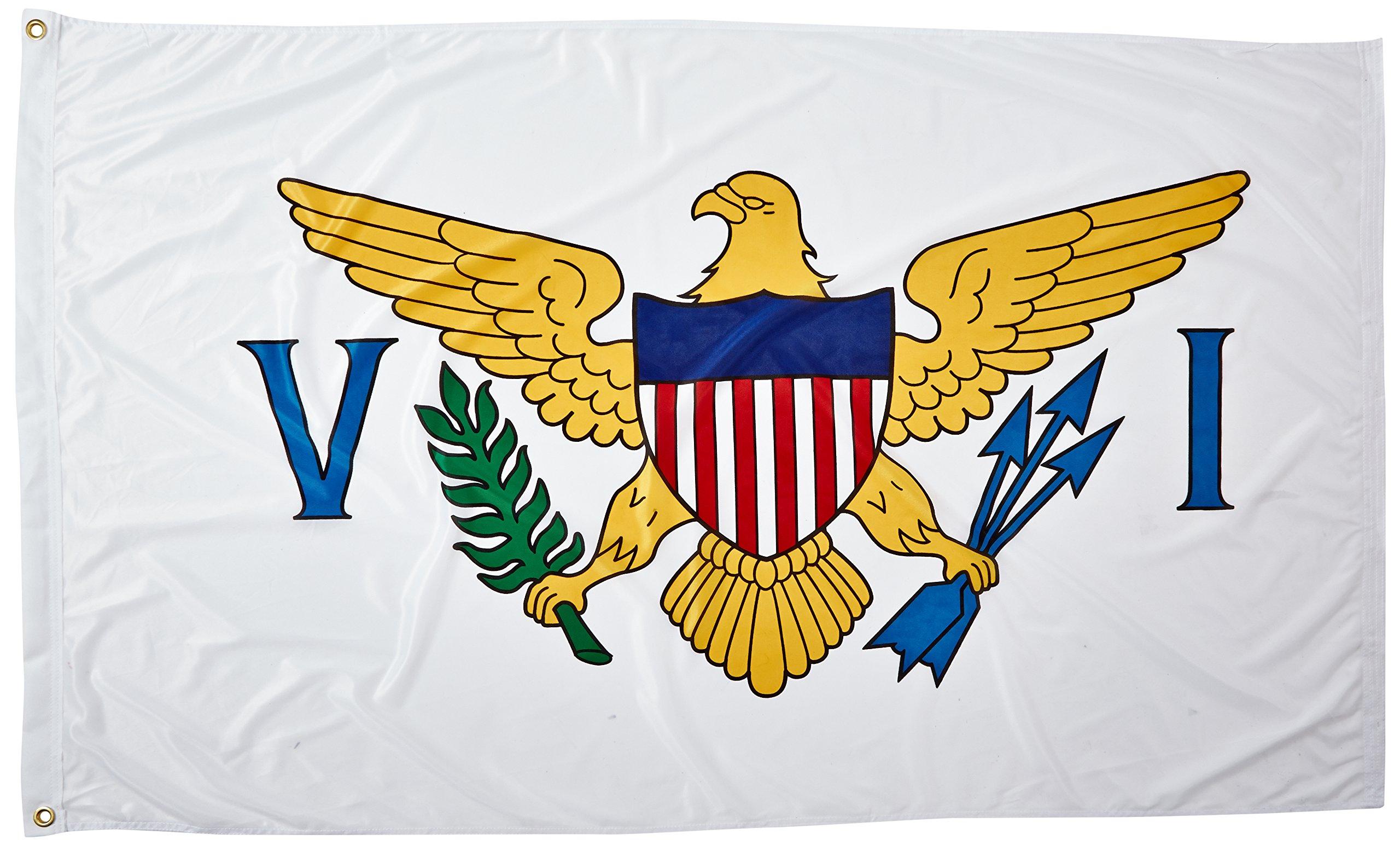 Online Stores U.S.Virgin Islands Flag, 3 by 5-Feet