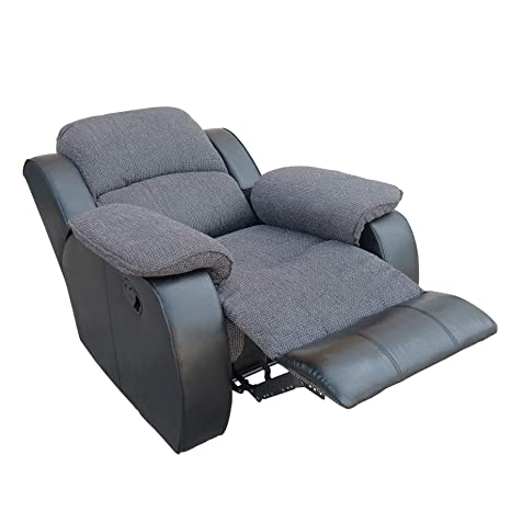 Pleasant Amazon Com Dercass Manual Recliner Chair Chenille Fabric Pdpeps Interior Chair Design Pdpepsorg