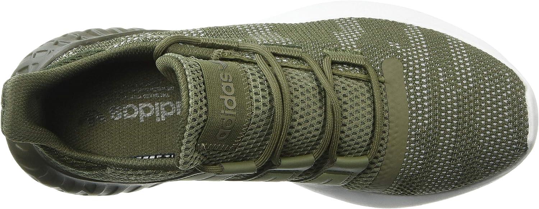 adidas Originals Men's Tubular Dusk Running Shoe Raw Khaki/Night Cargo/White