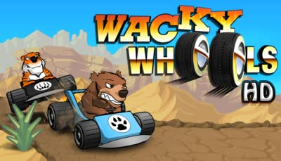 Wacky Wheels HD [Online Game Code]