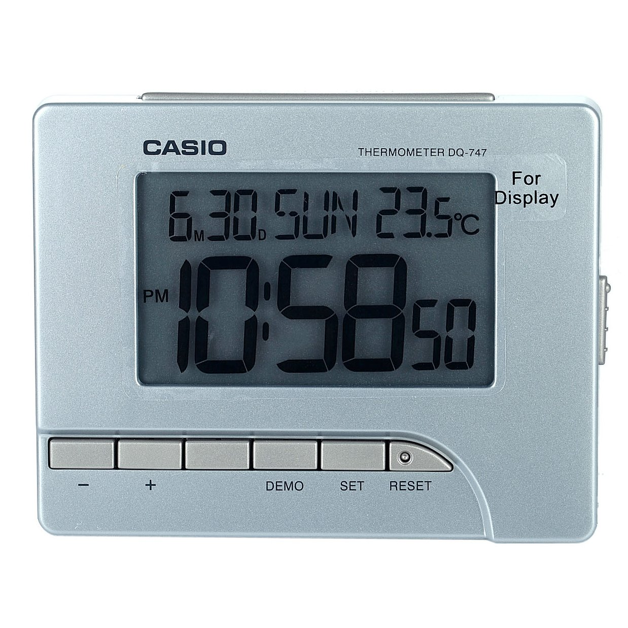 Digital wall clock india online gallery home wall decoration ideas casio wall clock image collections home wall decoration ideas buy casio table clock dq 747 8 amipublicfo Choice Image
