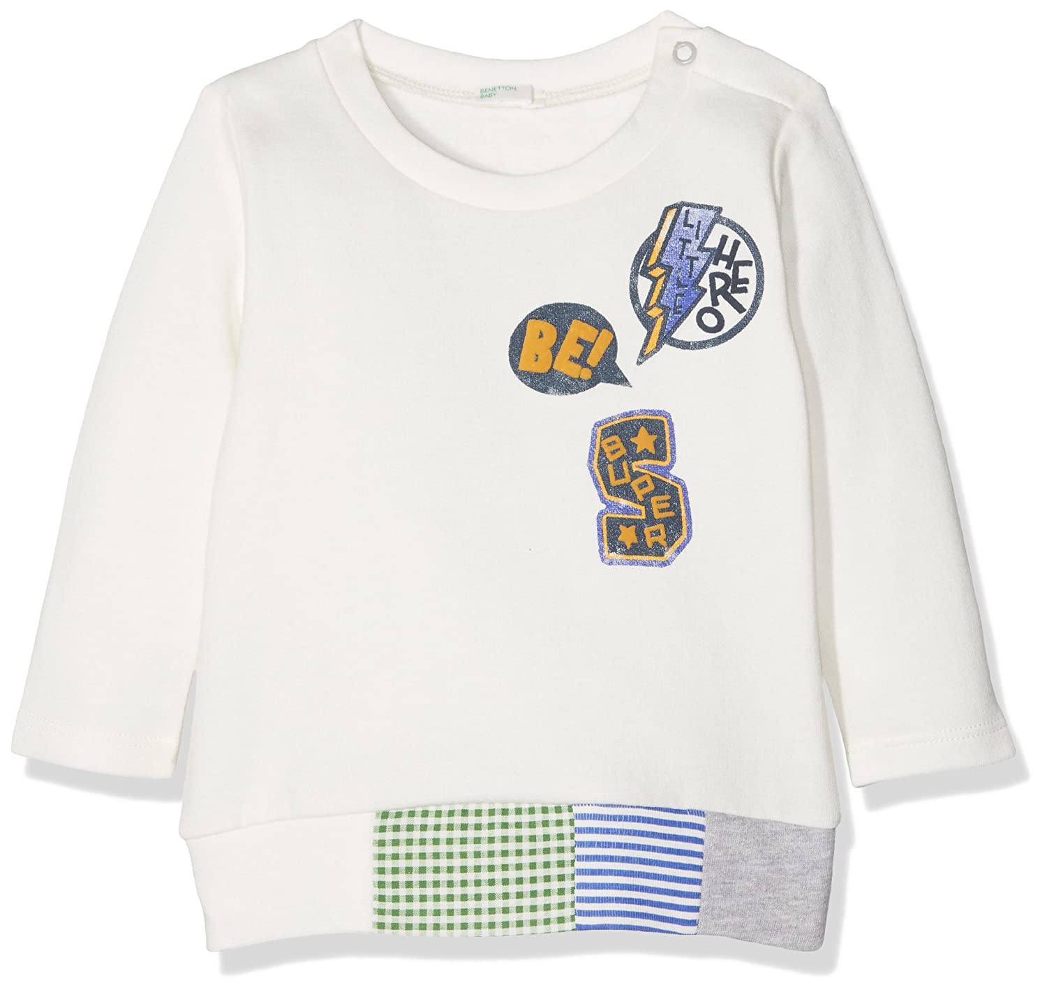 United Colors of Benetton Cotton Blend Longsleeve Sweater, Sudadera Bebé-para Niñas: Amazon.es: Ropa y accesorios