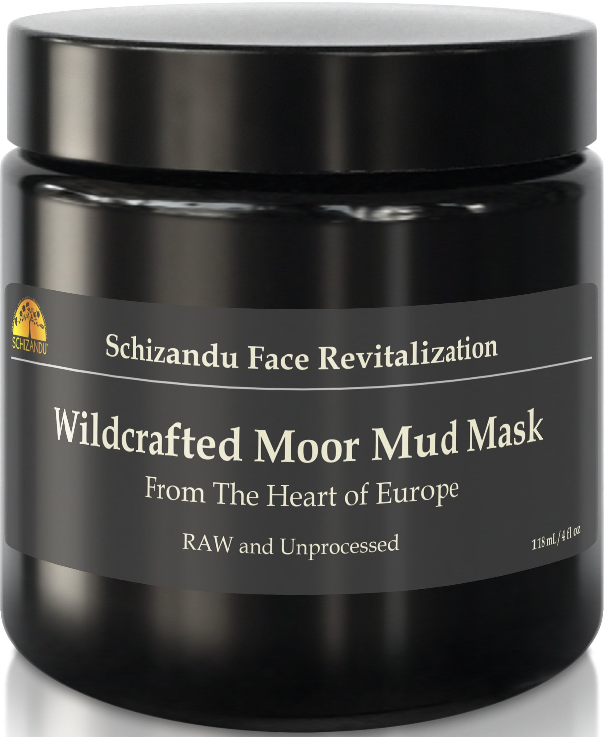 Mud Mask, Wildcrafted Moor Mud, Daily Beauty Sulfur Mask, Cleanse Detox, Rejuvenation and Cellular Regeneration with Fulvic Acid, Hydrating, Stimulating Natural Facial Treatment