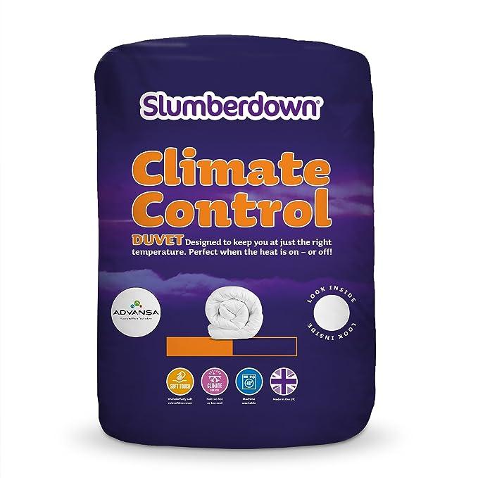 29 opinioni per Slumberdown- Piumino in policotone con funzione Climate Control, bianco, Doppio