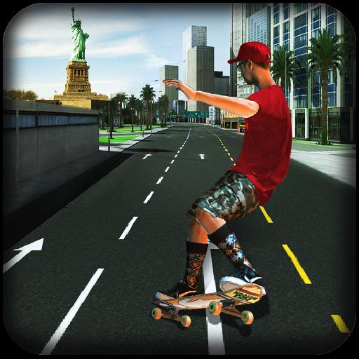 Skater Run : Street Surfer
