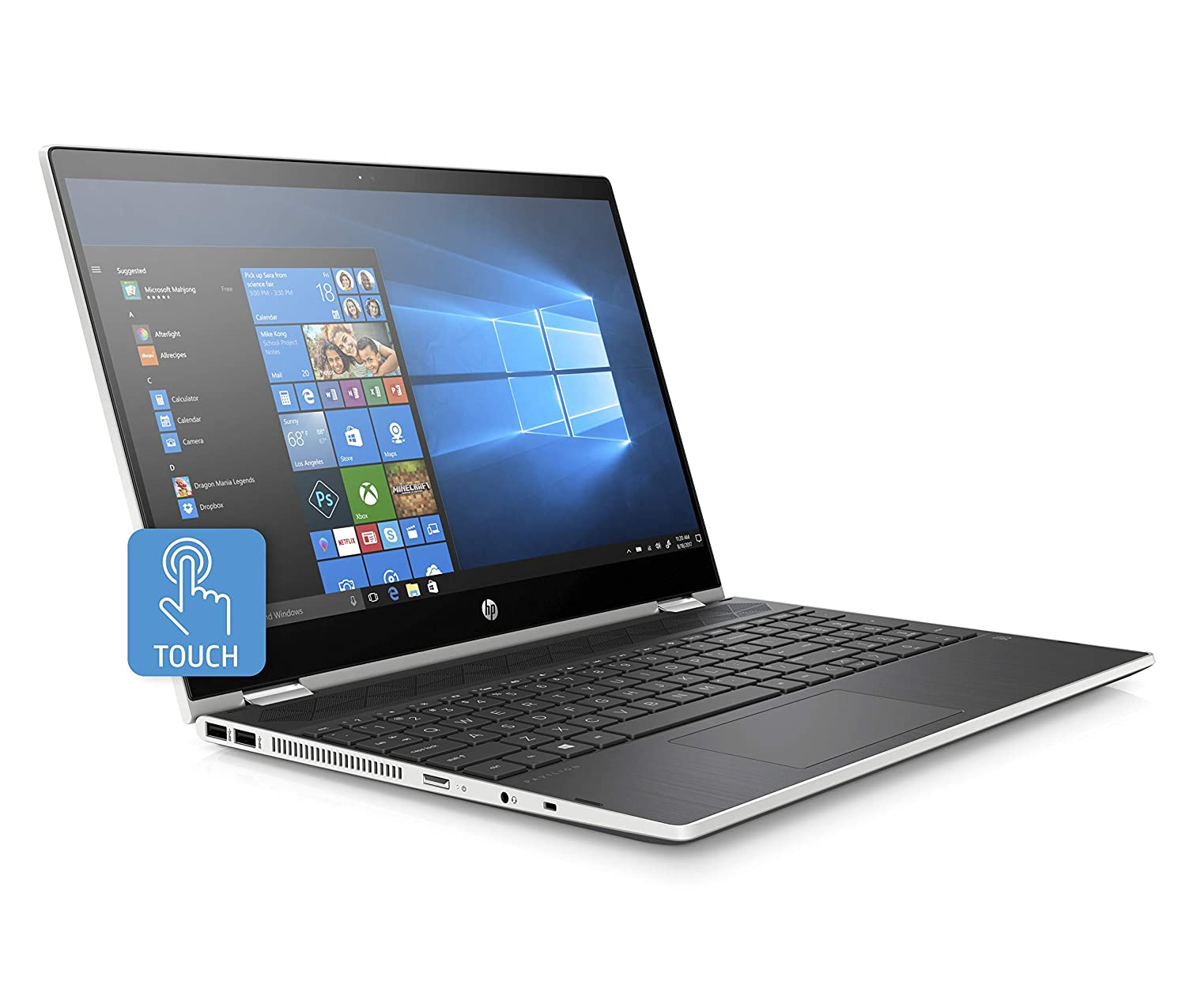 HP Pavilion X360 156 Full HD Convertible Touschscreen 2in1 Laptop Core i38130U Up to 34GHz 20GB 4GB