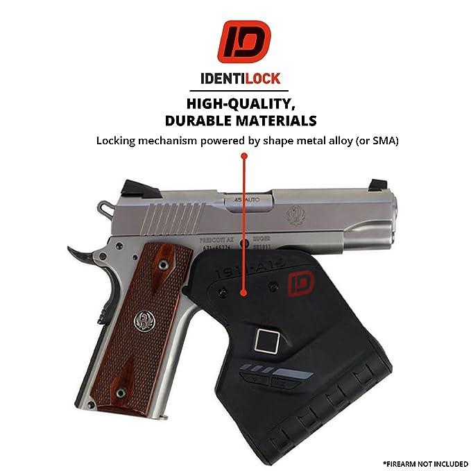 IDENTILOCK Quick Release Digital Gun Trigger Fingerprint Safety Lock