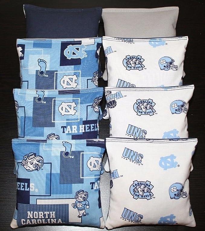 North Carolina Tar Heels UNC Baggo Bean Bag Toss Cornhole Game Vintage Design