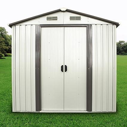 amazon com wonlink duramax 6x4ft outdoor utility storage sheds