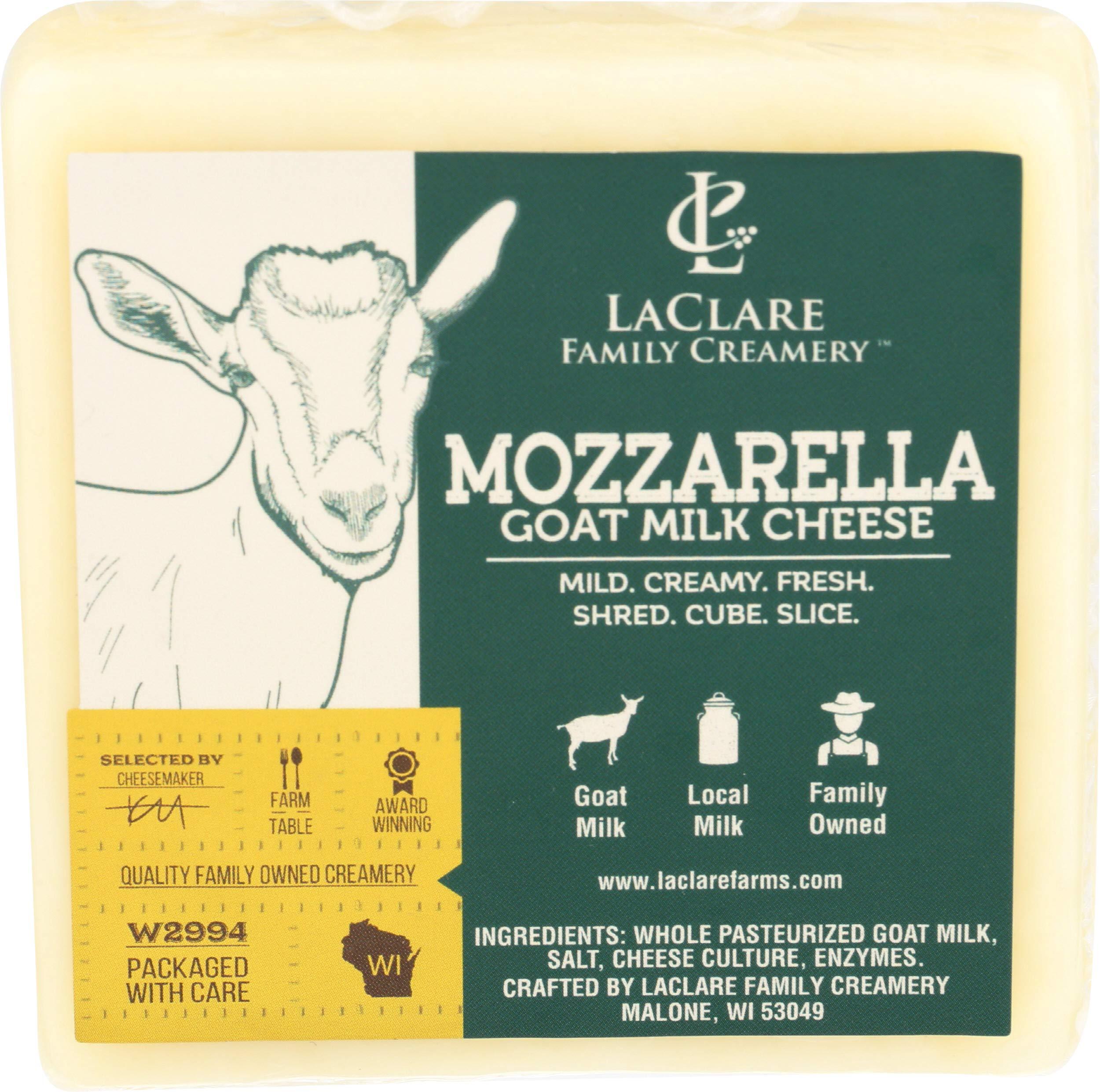 Laclare Farm, Mozzarella Goat, 6 Ounce