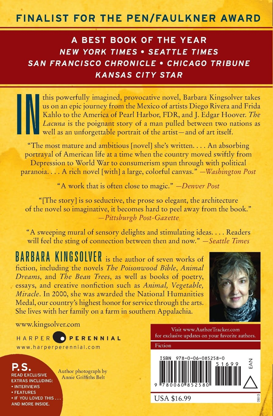 The Lacuna: A Novel (ps): Barbara Kingsolver: 8601300337913: Amazon:  Books