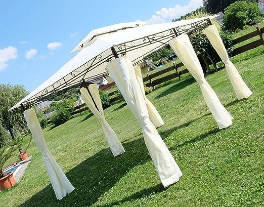 3x4 metros glorieta mirador con elegantes cortinas 6 2016-A ...