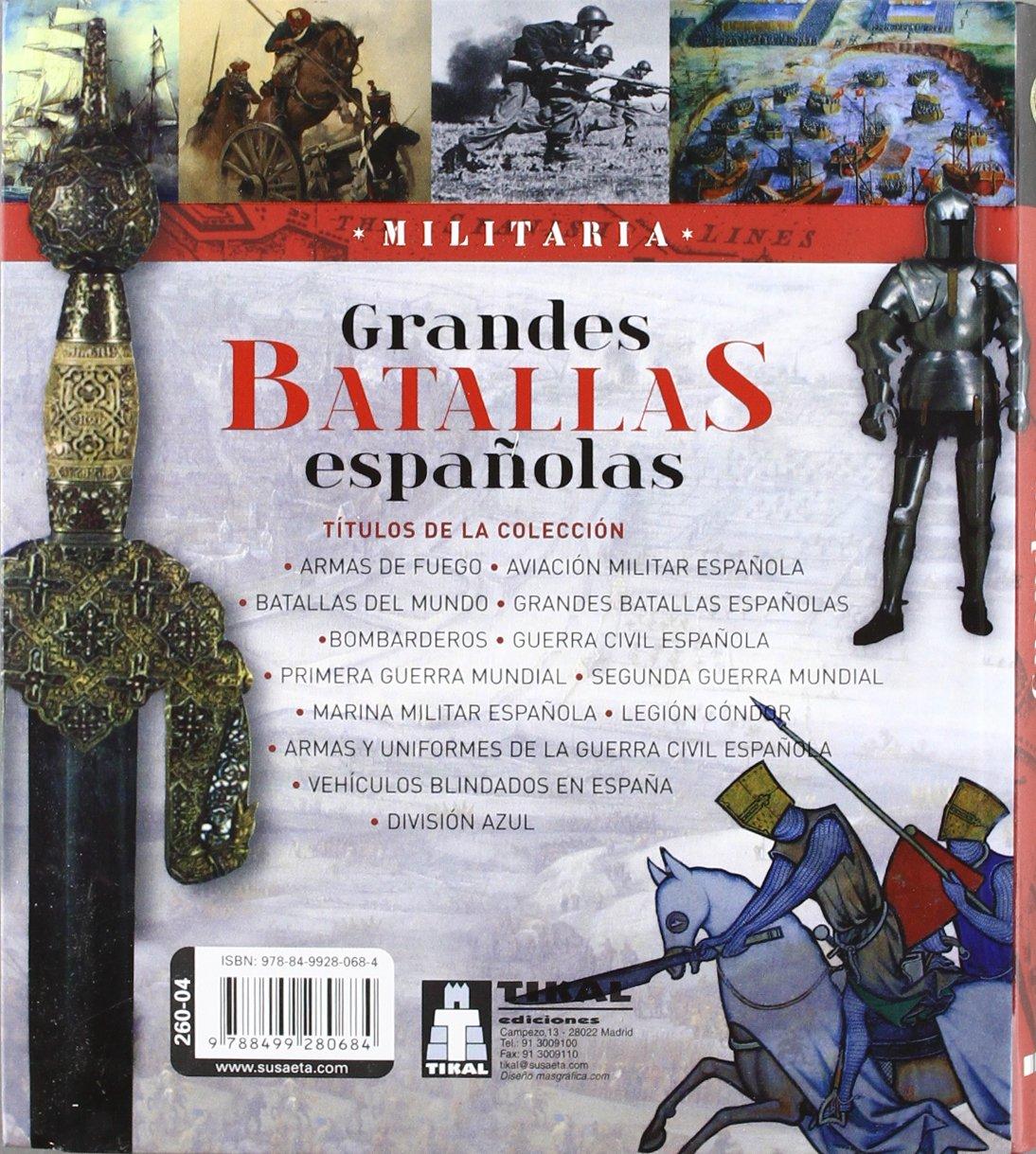 Grandes batallas Españolas (Militaria): Amazon.es: Vázquez García ...