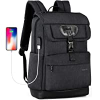Tigernu Water Resistant Laptop Backpack with USB Charging Port, Fits 15.6 inch Laptop/MacBook