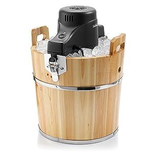 Sunbeam FRSBWDBK- NP 4-Quart Ice Cream Wooden Bucket